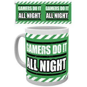 Gaming All Night Mug