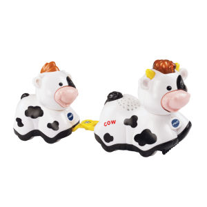 Vtech Toot-Toot Animals Mummy and Baby Cow