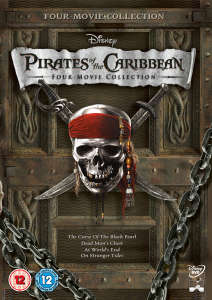 Pirates of the Caribbean Box Set (1-4)