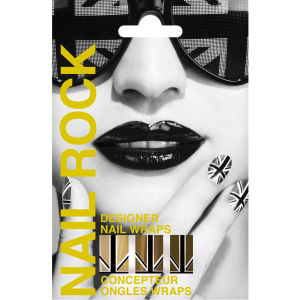 Rock Cosmetics Nail Rock - Union Jack Gold