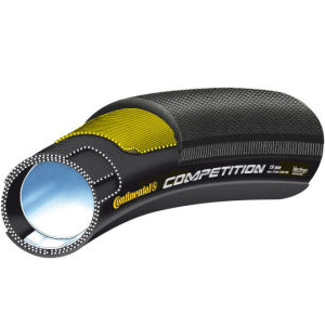 Continental Competition 19 Tubular Road Tyre Black 26in x 19mm + FREE Inner Tube