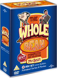 Whole Bean - Complete Verzameling (Bean: Ultimate Disaster Movie / Mr. Bean - Live Action Series / Mr. Bean - Animated Series)