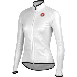 Castelli Sottile Rain Jacket - Transparent