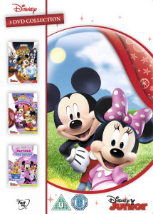 Mickey Mouse Clubhouse Triple: Minnie Rella / Quest For Crystal Mickey / Minnie's Pet Salon