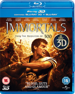 Immortals 3D (Includes 2D Version)