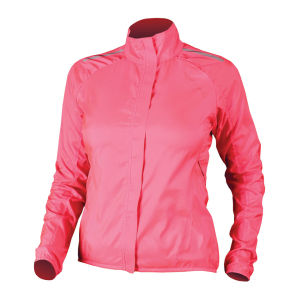 Endura Women's Pakajak Cycling Jacket Hi Vis Pink