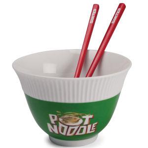 Pot Noodle Bowl and Chopstick Set