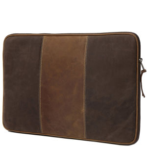 dbramante1928 Leder Hülle für up to 16 Zoll Laptops and Notebooks - Hunter Brown Stripe