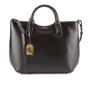 Lauren Ralph Lauren Women's Tate Convertible Tote Bag - Black