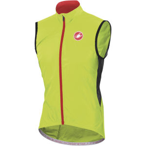 Castelli Velo Windbreaker Gilet - Yellow