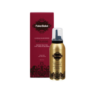 Fake Bake Luxurious Golden Bronze Instant Self-Tan Mousse (118ml)