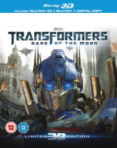Transformers 3: Dark of the Moon 3D (3D Blu-Ray, 2D Blu-Ray en Digital Copy)