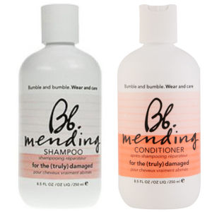 Duo reparativo Bb Wear and Care Mending - champú y acondicionador