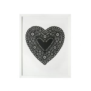 Bianca Hall Unframed Print - Black