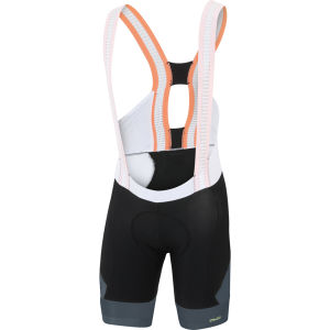 Sportful R&D Sc Bib Shorts - Black/Grey/Yellow