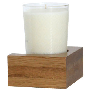 Wireworks Natural Oak Candle/Tumbler Shelf