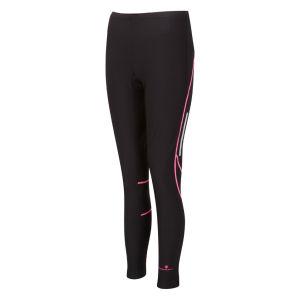 RonHill Women's Vizion Winter Tights - Black/Fluorescent Pink