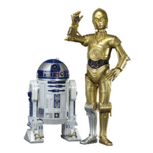 Kotobukiya Star Wars C3-PO & R2-D2 ArtFX+ Twin Pack Figures