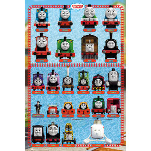 Thomas and Friends Characters - Maxi Poster - 61 x 91.5cm