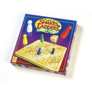 Paul Lamond Games Snakes and Ladders