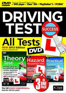 Driving Test Success All Tests DVD 2012 Edition