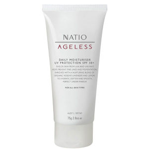 Crema hidratante con protección UV FPS30+ Nation Ageless (75g)