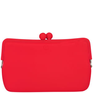 Candy Store Women's Silicone Cosmetic Bag  - Red