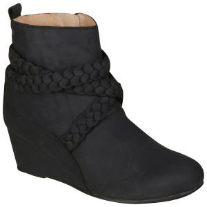 Boxfresh Women's Mattha Wedge Boots - Black