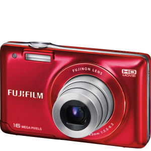 Fujifilm JX580 Camera - Red (16MP, 5 x Optical, 3
