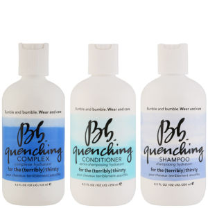 Bb Wear and Care Quenching Trio (Shampoo, Conditioner and Complex)