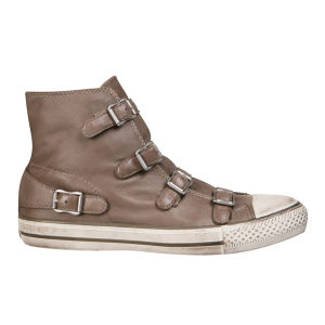 Ash Women's Virgin Leather Hi Top Trainers - Perkish