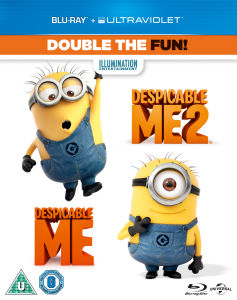 Despicable Me 1 en 2 (Bevat UltraViolet Copy)
