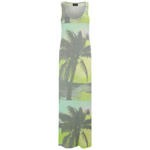 VILA Women's Palmas Maxi Dress - Fair Aqua