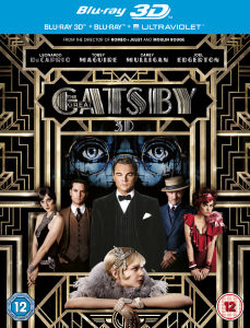 The Great Gatsby 3D (Bevat 2D Versie en UltraViolet Copy)