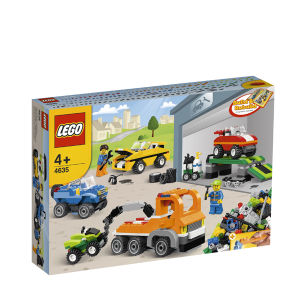 LEGO Build and Rebuild: Fun with Vehicles (4635)