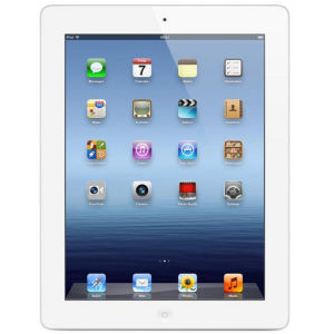 Apple New iPad 3rd Generation - 64GB Wi-Fi & 4G Tablet in White (MD371B/A)