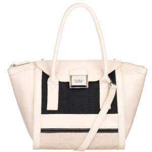 Fiorelli Belinda Medium Zip Top Grab/Cross Body Bag - Vanilla