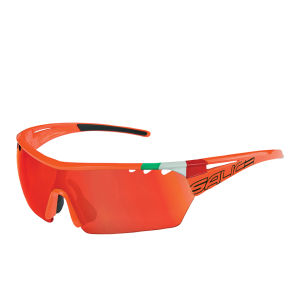 Salice 006 ITA Sports Sunglasses - Mirror - Orange/RW Red
