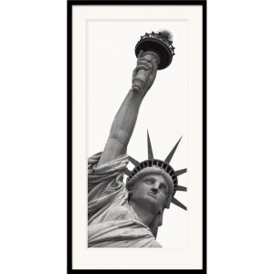 Amy Gibbings Statue of Liberty Art Print (50x100)