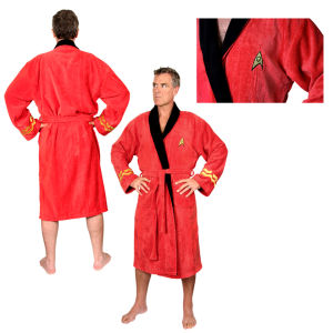 Star Trek Scotty Adult Towelling Robe (One Size)