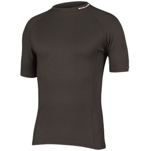 Endura Transrib S/S Baselayer - Black
