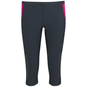 adidas Women's Super Nova 3/4 Running Tights - Nightshade/Vivid Berry