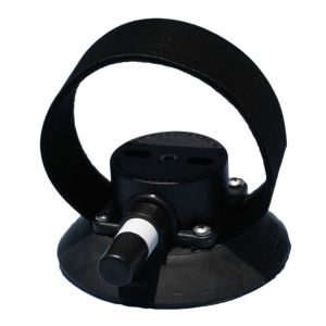 SeaSucker Compact Rear Wheel Strap 4.5 Inch Vacuum Mount with Velcro Strap for Holding Rear Wheels
