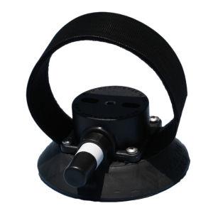 SeaSucker Compact Rear Wheel Strap 4.5 Inch Vacuum Mount with Velcro Strap for Holding Rear Wheels