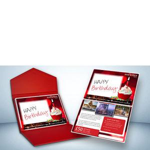 Happy Birthday £50 Gift Card