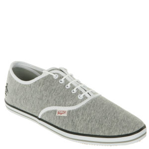 Original Penguin Men's Sam Canvas Trainers - Grey
