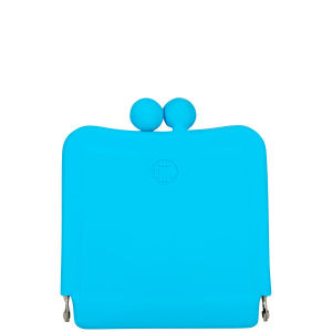 Candy Store Women's Silicone Purse Mirror - Blue