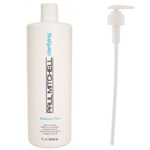 Paul Mitchell Shampoo Two (1000ml) with Pump (Bundle)