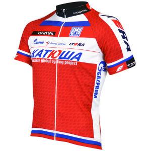 Katusha Team Full Zipp SS Jersey - 2013