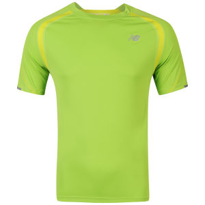 New Balance Men's Ice Short Sleeve T-Shirt - Jazz Green